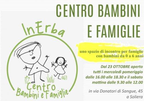 Riapre il Centro Bambini e Famiglie di Soliera