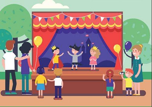 Il teatro per i bambini delle scuole dell'infanzia Mandela e Munari di Carpi